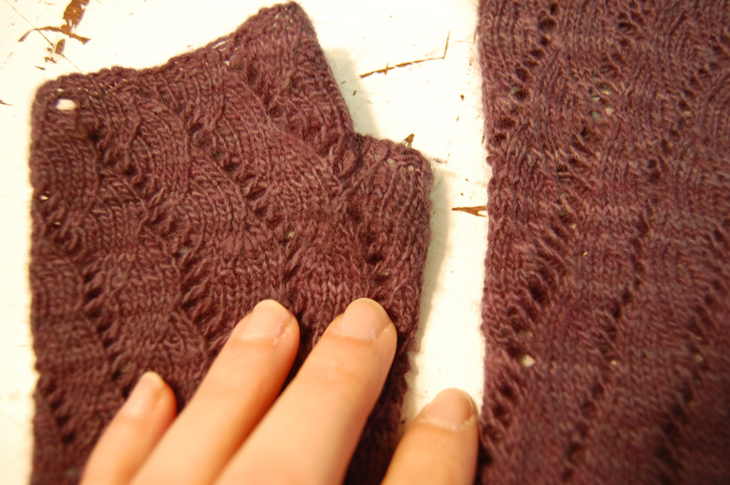mitts detail